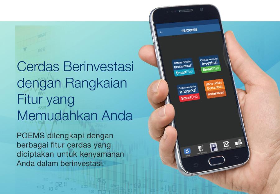 Kemudahan berinvestasi melalui POEMS. Sumber foto: Phillip Securities Indonesia